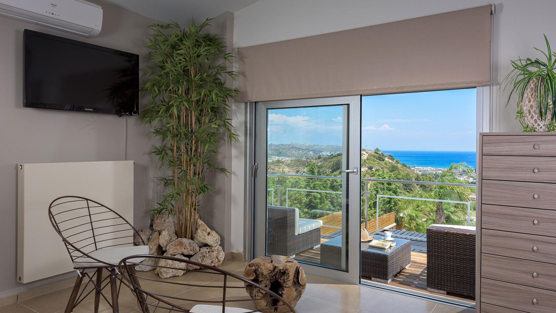 Quinn Hill Villa living area