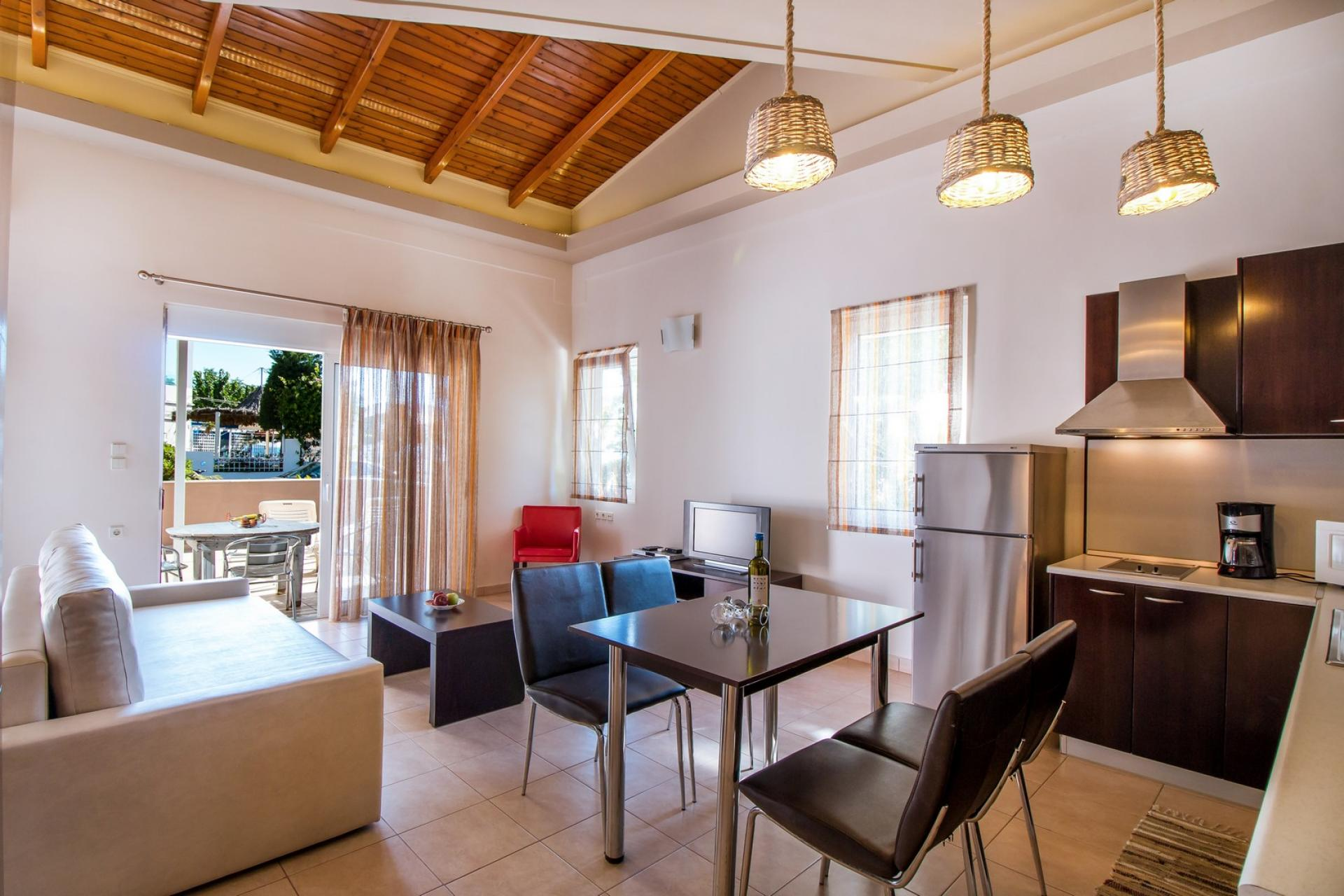 Suite for 4 persons near the sea